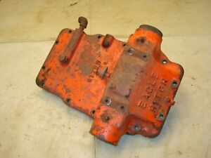1959 Case 611b Tractor Eagle Hitch Top Cover Lift Cylinder Assembly 600