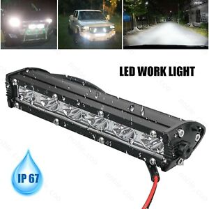 7 18w Spot Led Light Work Bar Lamp Driving Fog For Offroad Suv 4wd Car Truck