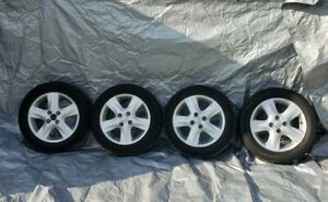 2006 2008 Toyota Yaris Wheels And Tires Set Of 4