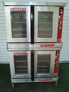 Blodgett Markv 111 Electric Double Bakery Commercial Oven Bakery Pizza