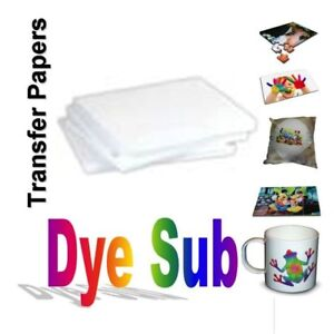 50 Sheets A 8 5 X 11 Sublimation Transfer Paper For Sublimation Inks
