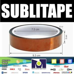 Heat Press Tape Dye Sublimation For Mugs 3d Printer 20mmx33m 100ft 1 Roll