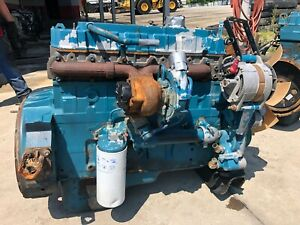 2003 International Dt466e Diesel Engine 215hp Good Running Take Out