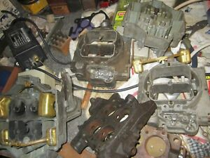 Group Of Carter Wcfb Carburetor Assorted Parts All For Buy It Now good Offer