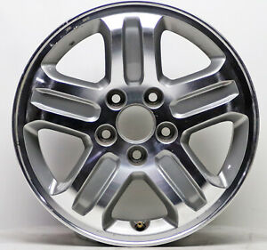 Used 16 Machined Grey Alloy Wheel Rim For 2003 2008 Honda Pilot 63849 17