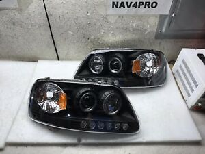 1997 2003 Ford F 150 1997 2002 Ford Expedition Led Drl Headlight Pair h470