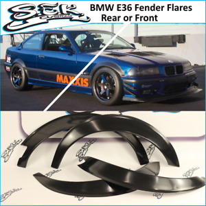 Bmw E36 Coupe Fender Flares Front Or Rear bmw 3 Series Wide Body Overfenders