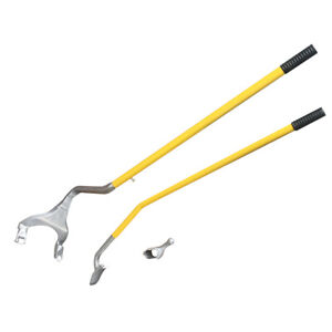 New 17 5 24 Tire Changer Tire Mount Demount Tool Tools Tubeless Truck Yellow