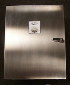 New Hoffman Stainless Steel Enclosure 20 X 16 X 8 W Backplate Csd20168ss
