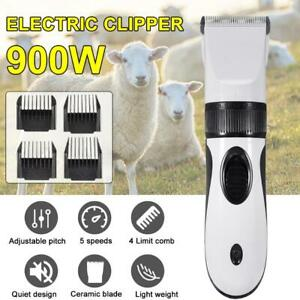 900w Electric Sheep Goat Shears Animal Grooming Shearing Wool Scissor Clipper