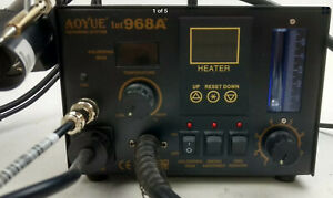 Aoyue Int 968a Smd Digital Hot Air Rework Station