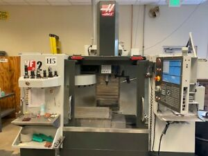 Haas Vf 2 Vertical Milling Machine 2013 Only Cut Plastic 10k Rpm 30hp 40