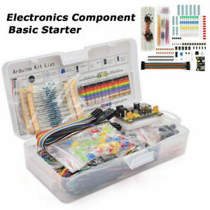830 Breadboard Cable Resistor Electronics Component Starter Kit Fits For Arduino