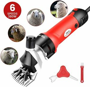 Tolys 380w Electric Sheep Shears Portable Sheep Clippers With 6 Speedelectric