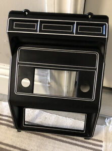 1980 86 Ford F150 F250 F350 Bronco Genuine Oem Radio Dash Bezel Trim Show