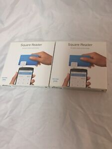 Lot Of 2 Square Credit Card Reader For Mobile Devices Brand New Sealed