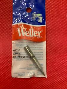 One Genuine Weller Wpt15 Pyropen Tip Tapered Needle