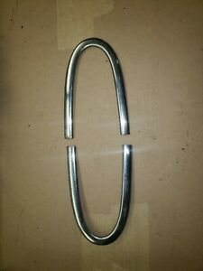 1948 To 1950 Ford Truck Stainless U Shaped Nose Trim F1 F2 F3 F4 F5 F6 Pair Oem