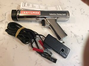 Craftsman Inductive Timing Light With Six Feet Test Leads Nos
