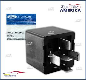 1 New Oem Ford Relay 1990 2015 Ford F 150 Blade Terminal Type 12v Foaz14n089a