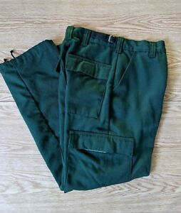 Vintage Aramid Wildland Firefighter Cargo Fire Pants Usfs Forest Service 28 x28