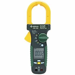 Greenlee Clampmeter Ac Cm 1360 Elec Test Instruments 1000 Amp free Shipping