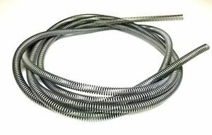 1 4 Brake Line Tube Spring Wrap Armor Guard Tubing Protectant Stainless 16 Ft Ss