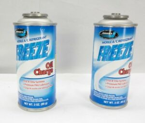 Freeze Oil Charge 3oz 2 Pack Johnsen S R 134a And Pag Lubricant T3