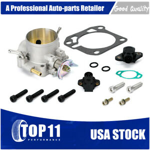Throttle Body With Tps Map Sensor For Honda Civic Si Acura B D H F Series