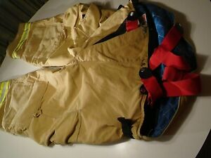 Globe Firefighters Suit Size Pants W 46 28 L Jacket Size 46 Marathon Petroleum