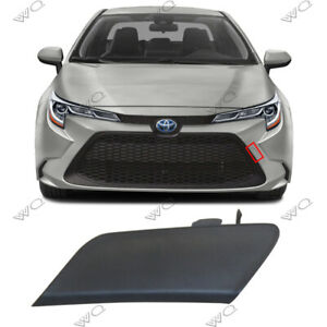 Fit For 2020 Toyota Corolla Le Xle Front Bumper Tow Trailer Hook Eye Cover Cap