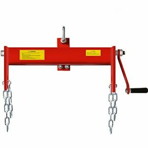 Heavy Duty Steel 2 Ton Engine Hoist Load Leveler With 2 Chains 4000 Lbs