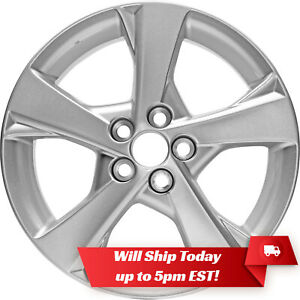 New Set Of 4 16 Silver Alloy Wheels And Centers For 2003 2016 Toyota Corolla