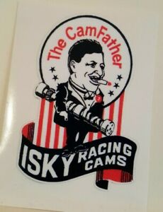 Isky Racing Cams Sticker Decal Hot Rod Rat Rod Vintage Look Drag Race