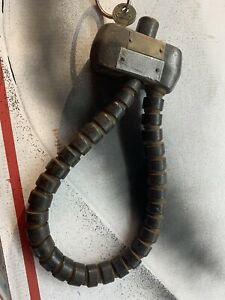 Vintage Original 1920 S Model T Spare Tire Lock With Key