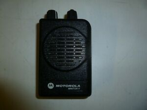 Motorola Minitor V 151 158 9 Mhz Vhf Stored Voice Fire Ems Pager Ge363e