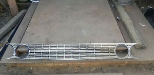 1962 Ford Galaxie 500 Front Grille Used Ad 9296