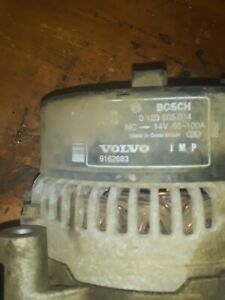 Volvo 9162683 S70 S70r C70 V70 V70r 850 850r Bosch Alternator Oem Lower Mileage