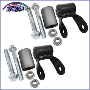 New Rear Leaf Spring Shackle Kit For 94 01 Jeep Cherokee Wagoneer