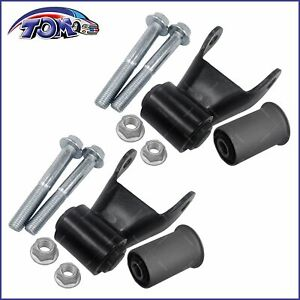 2pcs Rear Leaf Spring Shackle Repair Kit For Chevy C k Gmc Pickup Truck 722 006