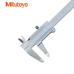 Mitutoyo 530 312 Vernier Caliper Metric Inch Range 0 150mm 0 6in Dhl Delivery