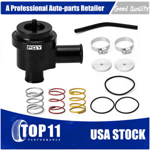 For Vw Audi 1 8t 2 7t Aluminum Blow Off Valve Turbo Bov Diverter Valve Kit Black