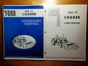 Ford Series 727 Loader For 4000 5000 Tractor Owner Operator Manual Assembly 65