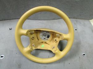 Porsche 911 99 2005 996 New Leather Manual Trans Steering Wheel 99334780456s40