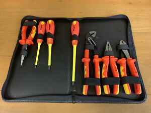 Westward 7 Pc Electricians Insulated Tool Set