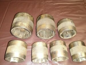 Nice Early 1920 S Snap On Tools 5 8 Dr Socket Set Of 7 S Over O Stamp