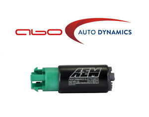 Aem For Ethanol Compatible 320lph 65mm Fuel Pump Kit W Mounting Hooks 50 1215
