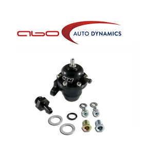 Aem For S2000 Accord Civic Black Adjustable Fuel Pressure Regulator 25 301bk