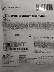 Kci V a c Whitefoam Dressing Large foam Only M6275034 15 Dressings