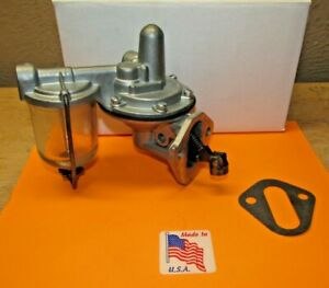1949 1950 Ford Mercury 239 V 8 Single Action Fuel Pump Rebuilt With Modern Parts